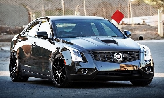 Cadillac unveils V-series versions of the ATS sedan and coupe