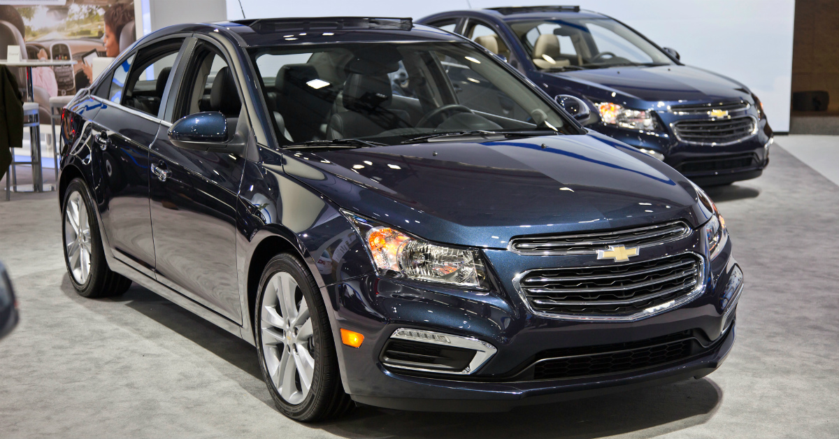 2015 chevrolet cruze smart for price and great on gas. Black Bedroom Furniture Sets. Home Design Ideas
